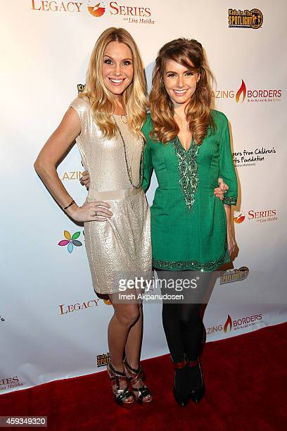 Actresses Virginia Williams and Brianna Brown attend the Legacy Series Launch Party at Sofitel Hotel on November 20 2014 in Los Angeles California
