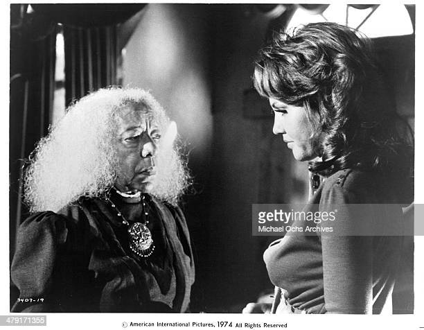 Actresses Zara Cully and Marki Bey in a scene from the movie Sugar Hill circa 1974