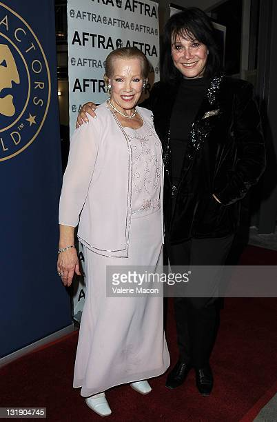 Actresses Zina Bethune and Michele Lee attends SAG Actors' Equity AFTRA's 2011 TriUnion Diversity Awards at Nate Holden Theatre Center on November 7...