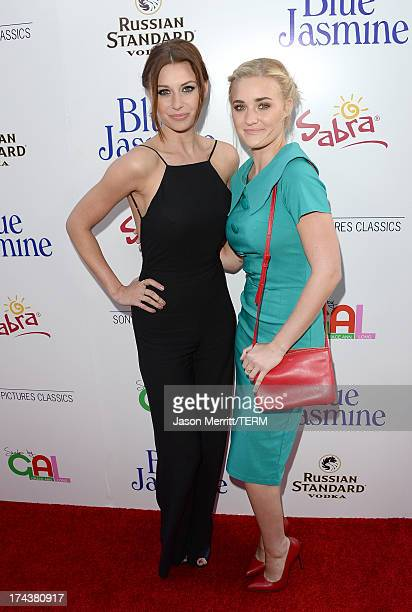 ActressesAmanda Michalka and AJ Michalka arrive at the premiere of 'Blue Jasmine' hosted by AFI Sony Picture Classics at AMPAS Samuel Goldwyn Theater...