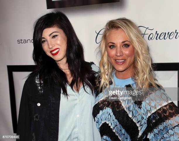 Actresses/sisters Briana Cuoco and Kaley Cuoco attend the 7th annual Stand Up For Pits at Avalon on November 5 2017 in Hollywood California