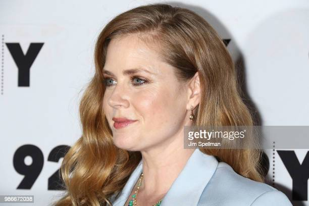 Actress/executive producer Amy Adams attends the 'Sharp Objects' screening and conversation at 92nd Street Y on June 28 2018 in New York City