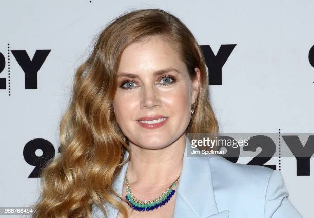 Actress/executive producer Amy Adams attends the Sharp Objects screening and conversation at 92nd Street Y on June 28 2018 in New York City