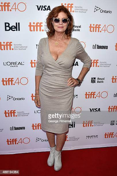 """Actress/executive producer attends """"The Meddler"""" premiere during the 2015 Toronto International Film Festival at the Princess of Wales Theatre on..."""