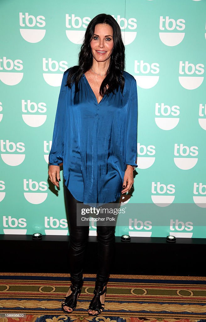 Actress/Executive Producer Courteney Cox of 'Cougar Town' attends Turner Broadcasting's 2013 TCA Winter Tour at Langham Hotel on January 4, 2013 in Pasadena, California. 23128_001_CP_0121.JPG