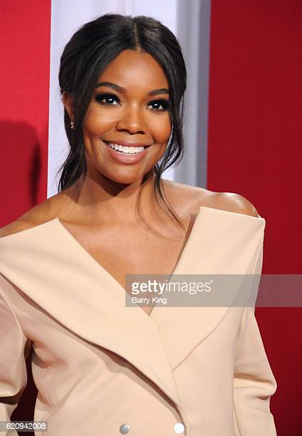 Actress/executive producer Gabrielle Union attends the premiere of Universal's 'Almost Christmas' at Regency Village Theatre on November 3 2016 in...