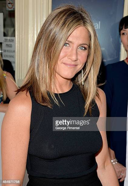 Actress/executive producer Jennifer Aniston attends the 'Cake' premiere during the 2014 Toronto International Film Festival at The Elgin on September...