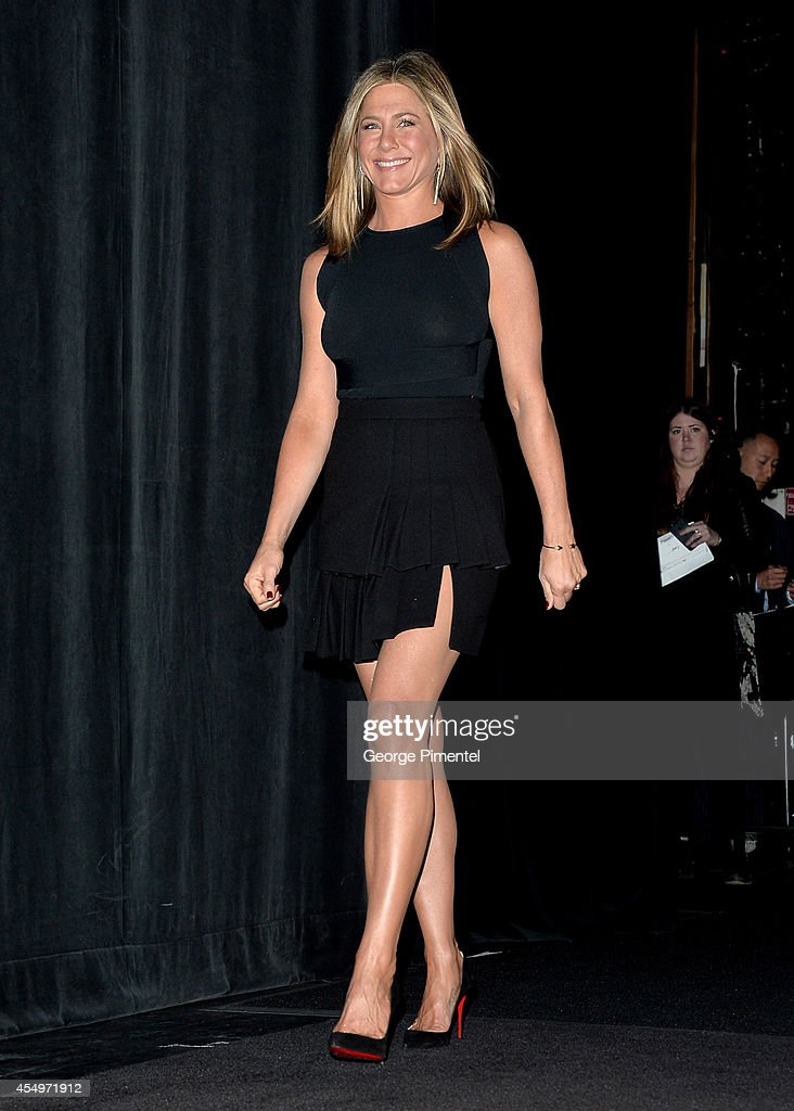 Actress/Executive Producer Jennifer Aniston attends the 'Cake' premiere during the 2014 Toronto International Film Festival at The Elgin on September 8, 2014 in Toronto, Canada.
