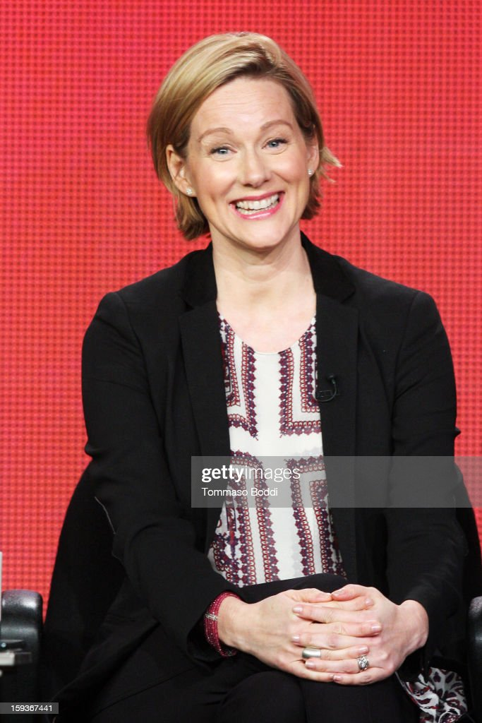 Actress/executive producer Laura Linney of the TV show 'The Big