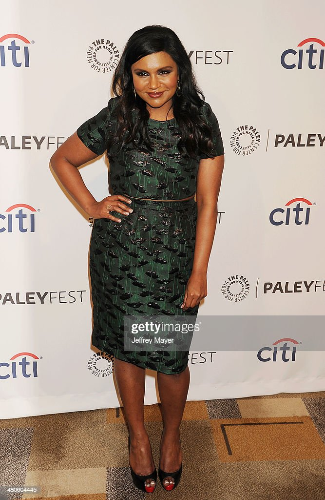 Actress/Executive producer Mindy Kaling attends the 2014 PaleyFest - 'The Mindy Project' held at Dolby Theatre on March 21, 2014 in Hollywood, California.