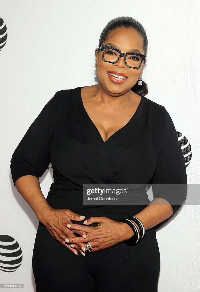 Actress/executive producer Oprah Winfrey attends the Tribeca Tune In: 'Greenleaf' Screening at John Zuccotti Theater at BMCC Tribeca Performing Arts Center on April 20, 2016 in New York City.