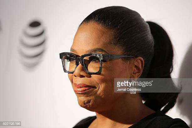 "Actress/executive producer Oprah Winfrey attends the Tribeca Tune In: ""Greenleaf"" Screening at John Zuccotti Theater at BMCC Tribeca Performing Arts..."