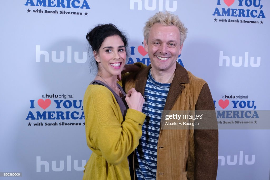"""Photo Op For Hulu's """"I Love You America"""" With Sarah Silverman"""