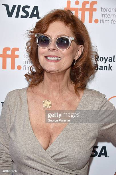 Actress/executive producer Susan Sarandon attends The Meddler premiere during the 2015 Toronto International Film Festival at the Princess of Wales...