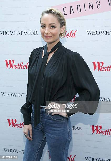 Actress/fashion designer Nicole Richie attends Westfield x Who What Wear Presents Boss Notes at Westfield Topanga on April 2 2016 in Woodland Hills...