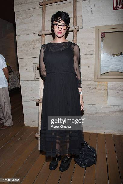 Actress/film director Asia Argento attends the Riviera Maya Film Festival 2015 opening night party at Cacao Hotel on April 24 2015 in Playa del...