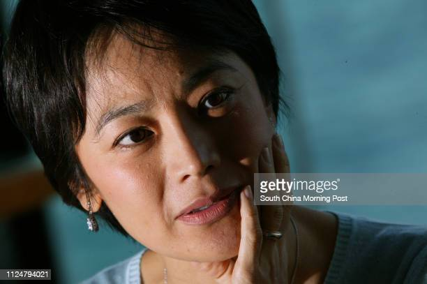 Actress-film director Sylvia Chang Ai-chia is interviewed at Harbour Plaza Hotel. 09 February 2004