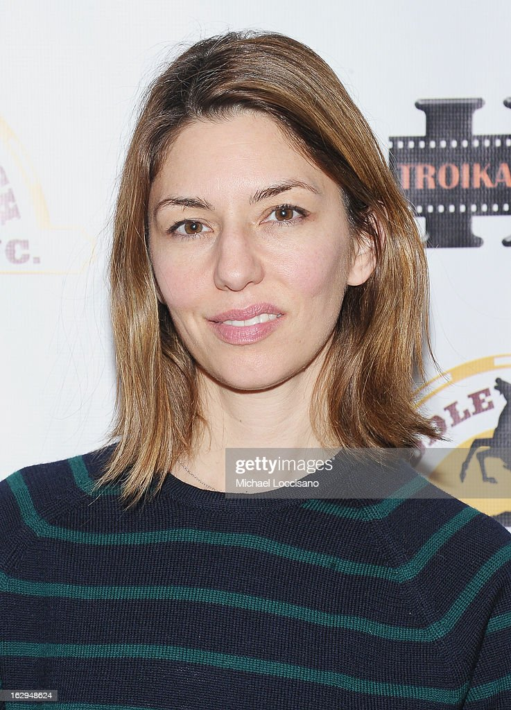 Actress/filmmaker Sofia Coppola attends the opening night party for the 2013 First Time Fest at The Players Club on March 1, 2013 in New York City.