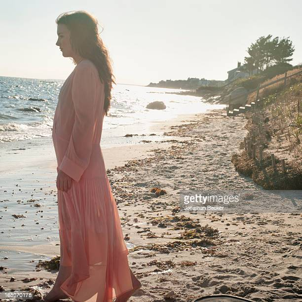 Actress/granddaughter of Robert F. Kennedy, Kathleen Kick Kennedy is photographed for Town & Country Magazine on September 22-23, 2012 in Hyannis...
