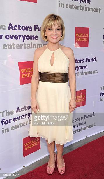 Actress/gymnast Cathy Rigby attends the Actors Fund's 18th annual Tony Awards Party on June 8 2014 at the Skirball Center in Los Angeles California