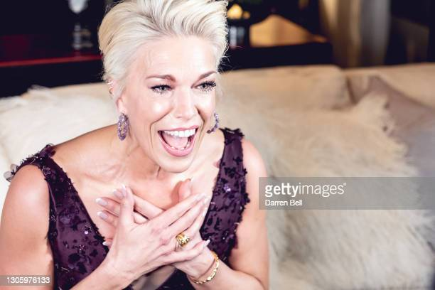 ActressHannah Waddinghamposes for the2021 Critics Choice Awards on March 07, 2021 at the Rosewood Hotel in London, United Kingdom. Hannah...