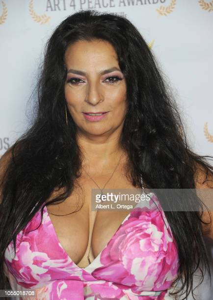 Actress/honoree Alice Amter of CBS' 'The Big Bang Theory' attends the 3rd Annual Art 4 Peace Awards 2018 held at Saban Theatre on October 28 2018 in...