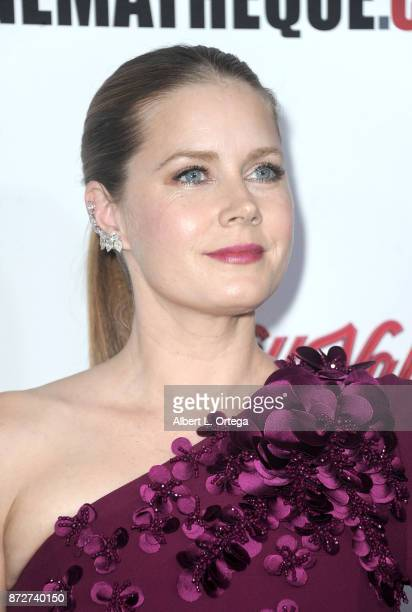 Actress/honoree Amy Adams arrives for the 31st Annual American Cinematheque Awards Gala held at The Beverly Hilton Hotel on November 10 2017 in...