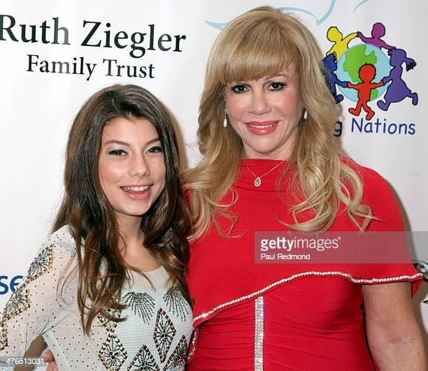 Actress/honoree Cassidy Mack and Daphna E Ziman attending the 15th Annual Academy Awards Viewing Party Benefiting Children Uniting Nations at Warner...