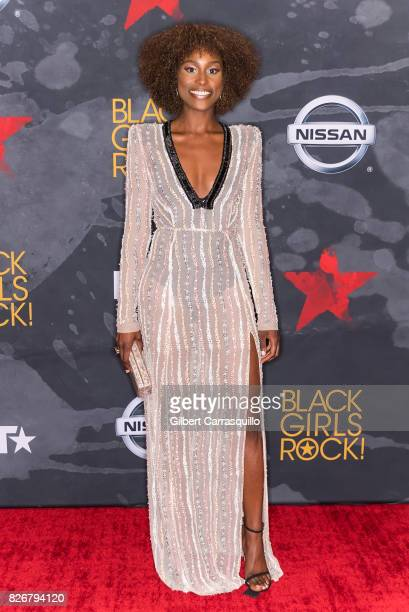 Actress/honoree Issa Rae attends Black Girls Rock 2017 at New Jersey Performing Arts Center on August 5 2017 in Newark New Jersey