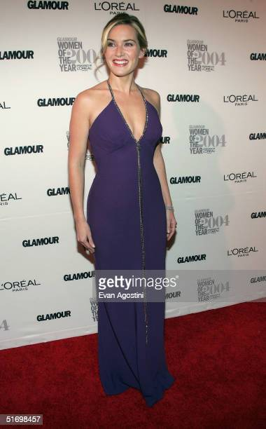 """Actress/honoree Kate Winslet attends the 15th Annual Glamour """"Women of the Year"""" Awards at the American Museum of Natural History November 8, 2004 in..."""