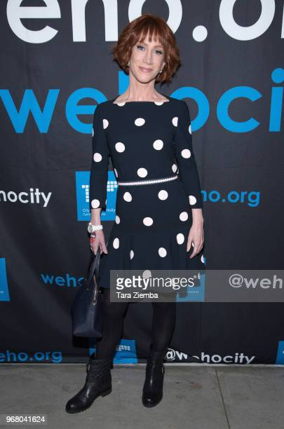 Actress/honoree Kathy Griffin arrives to the Rainbow Key Awards at City of West Hollywood's Council Chambers on June 5 2018 in West Hollywood...