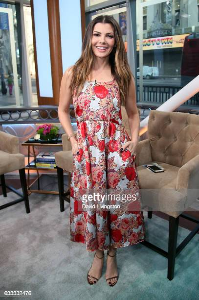Actress/host Ali Landry poses at Hollywood Today Live at W Hollywood on February 1 2017 in Hollywood California