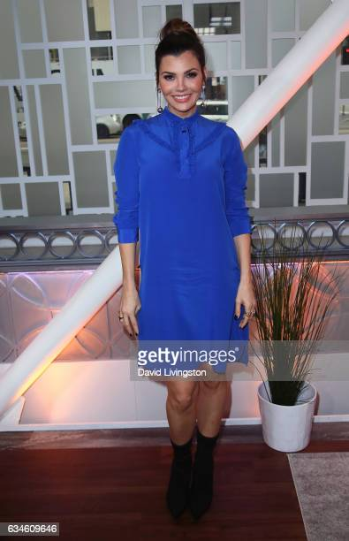 Actress/host Ali Landry poses at Hollywood Today Live at W Hollywood on February 10 2017 in Hollywood California