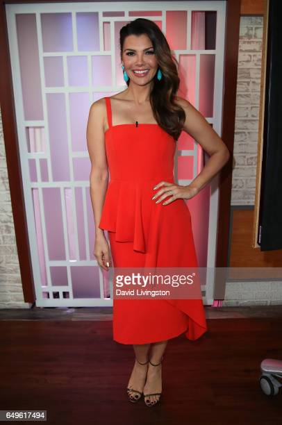Actress/host Ali Landry poses at Hollywood Today Live at W Hollywood on March 8 2017 in Hollywood California