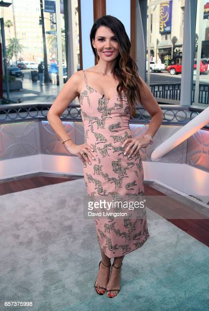 Actress/host Ali Landry poses at Hollywood Today Live at W Hollywood on March 24 2017 in Hollywood California