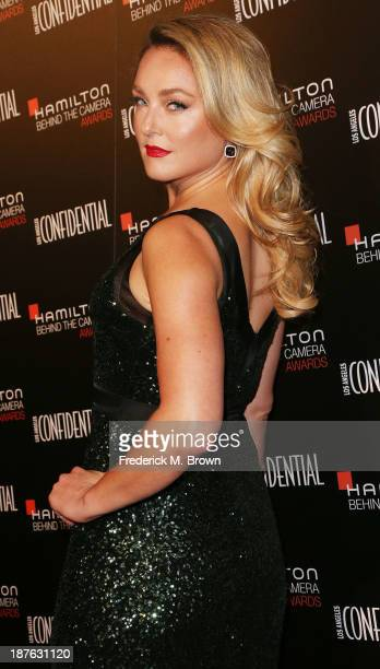 Actress/Host Elisabeth Rohm attends the Seventh Annual Hamilton Behind the Camera Awards at The Wilshire Ebell Theatre on November 10 2013 in Los...