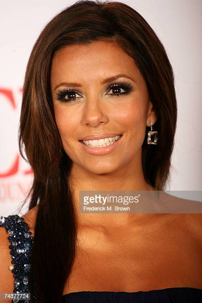 Actress/Host Eva Longoria poses in the press room during the 2007 NCLR ALMA Awards held at the Pasadena Civic Auditorium on June 1 2007 in Pasadena...