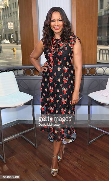 Actress/host Garcelle Beauvais poses at Hollywood Today Live at W Hollywood on July 29 2016 in Hollywood California