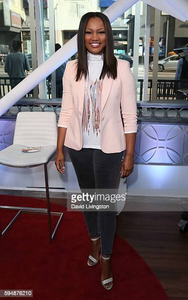 Actress/host Garcelle Beauvais poses at Hollywood Today Live at W Hollywood on August 24 2016 in Hollywood California