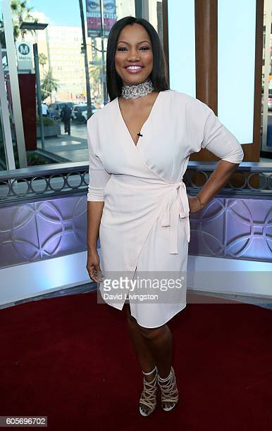 Actress/host Garcelle Beauvais poses at Hollywood Today Live at W Hollywood on September 14 2016 in Hollywood California