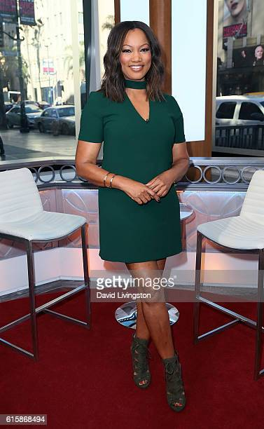 Actress/host Garcelle Beauvais poses at Hollywood Today Live at W Hollywood on October 20 2016 in Hollywood California