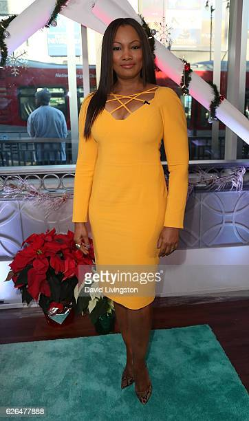 Actress/host Garcelle Beauvais poses at Hollywood Today Live at W Hollywood on November 29 2016 in Hollywood California