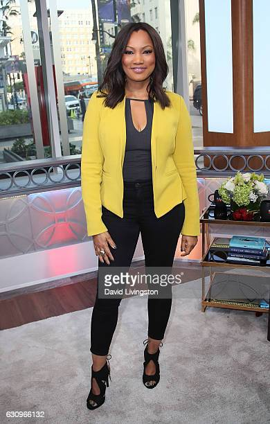 Actress/host Garcelle Beauvais poses at Hollywood Today Live at W Hollywood on January 4 2017 in Hollywood California