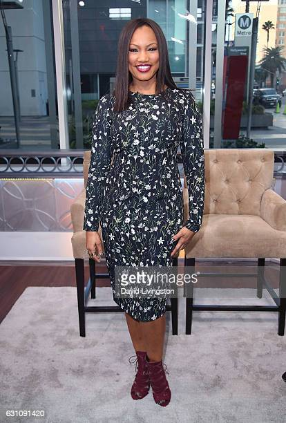 Actress/host Garcelle Beauvais poses at Hollywood Today Live at W Hollywood on January 6 2017 in Hollywood California