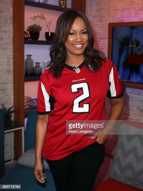 Actress/host Garcelle Beauvais poses at Hollywood Today Live at W Hollywood on February 3 2017 in Hollywood California
