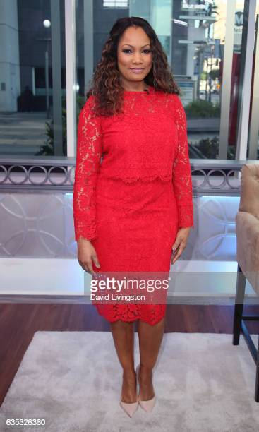 Actress/host Garcelle Beauvais poses at Hollywood Today Live at W Hollywood on February 14, 2017 in Hollywood, California.
