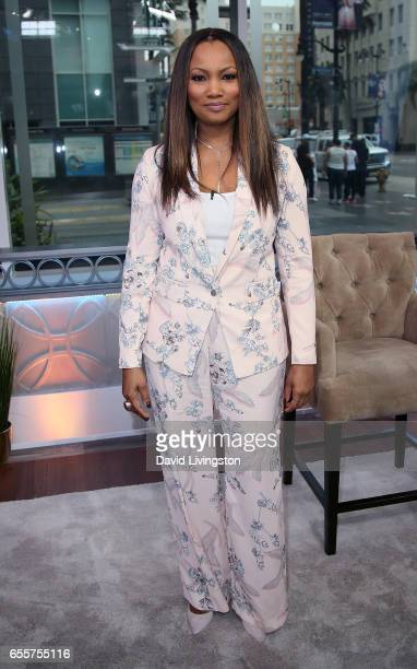 Actress/host Garcelle Beauvais poses at Hollywood Today Live at W Hollywood on March 20 2017 in Hollywood California
