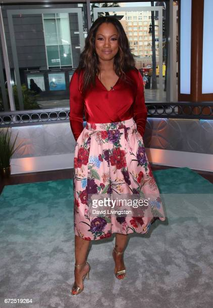 Actress/host Garcelle Beauvais poses at Hollywood Today Live at W Hollywood on April 24 2017 in Hollywood California