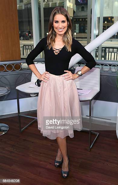 Actress/host Kristen Brockman poses at Hollywood Today Live at W Hollywood on July 29 2016 in Hollywood California