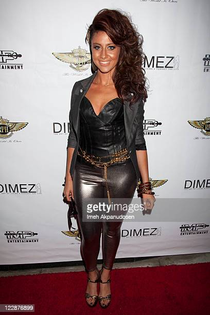 Actress/host Masha Arielle arrives at the 2011 MTV Video Music Awards Nomination Post Party Hosted By NeYo at Rolling Stone Restaurant And Lounge on...